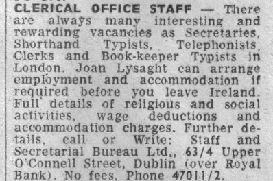 Are you recruiting like it was the 1960s?