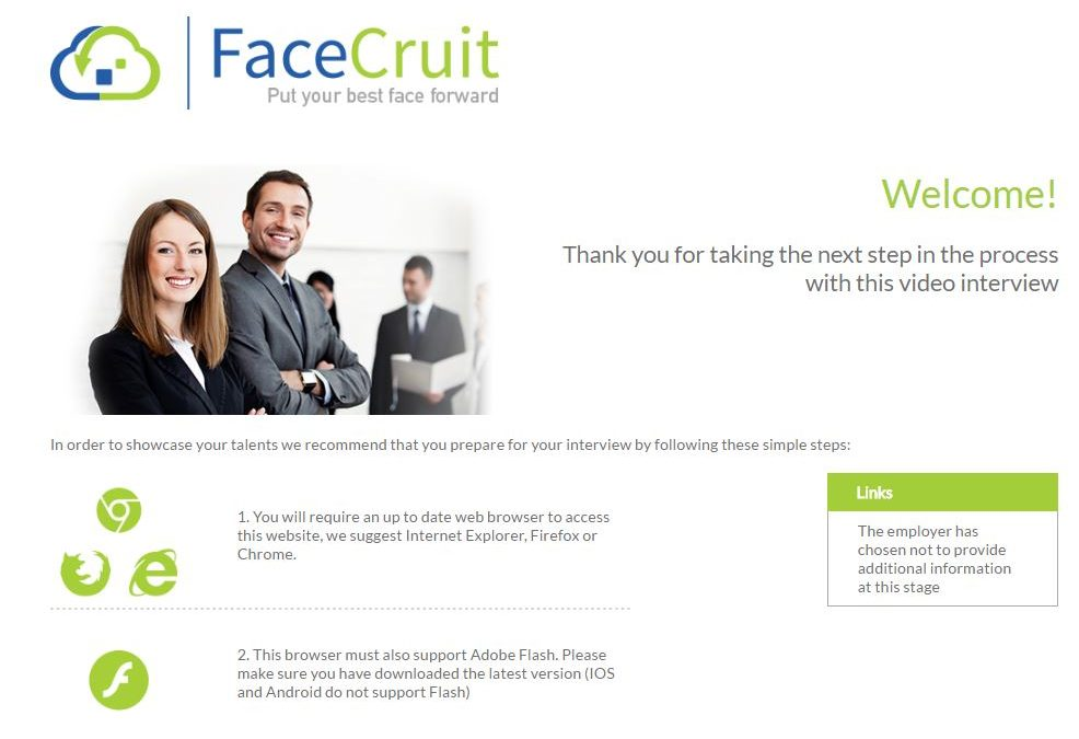 Video Interviewing Hosted in Australia